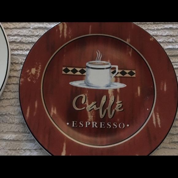 Century Other - Century Coffee Decor Plates Set of Four